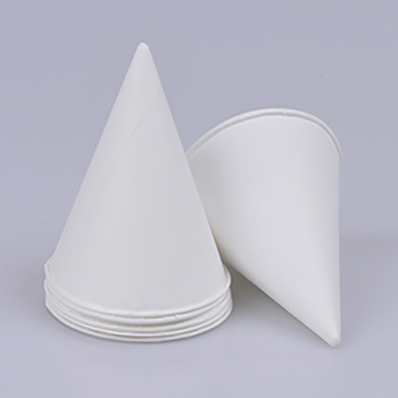 White water cone paper cup