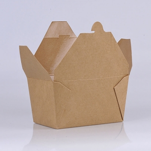 Brown Kraft Paper Food Container