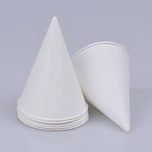 PE coated water cone paper cup